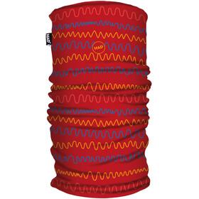 HAD Printed Fleece Loop Sjaal Kinderen, rood